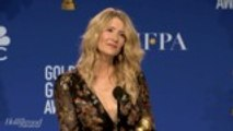 Laura Dern On Best Supporting Actress in a Drama Win For 'Marriage Story'   Golden Globes 2020