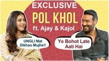 Ajay Devgn And Kajol HILARIOUS Pol KHOL Rapid Fire Round | Tanhaji | Exclusive