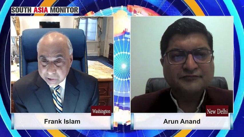 Frank Islam in conversation with Arun Anand, CEO, Indraprastha Vishwa Samvad Kendra, New Delhi