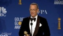 Tom Hanks On Receiving Cecil B. DeMille Award | Golden Globes 2020