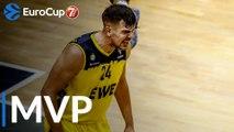 7DAYS EuroCup Top 16 Round 1 MVP: Rasid Mahalbasic, EWE Baskets Oldenburg
