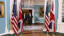 UK Foreign Secretary meets with US Secretary of State