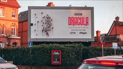 Dracula : cette publicité pour promouvoir la mini-série de la BBC est exceptionnellement créative et ingénieuse !