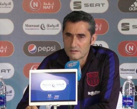 """Supercoupe d'Espagne - Valverde : """"On a déjà du faire face sans Messi"""""""