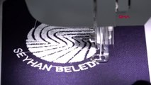 Adana seyhan, personelinin iş kıyafetini kendi üretiyor