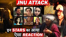 These Bollywood  Stars Strongly Condemns JNU Incident!