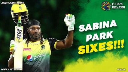 SABINA PARK SIXES | #CPL20 #CricketPlayedLouder