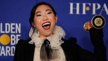 Awkwafina makes history at Golden Globes