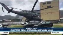 Heli yang Ditumpangi Kepala BNPB Gagal Terbang di Sangihe
