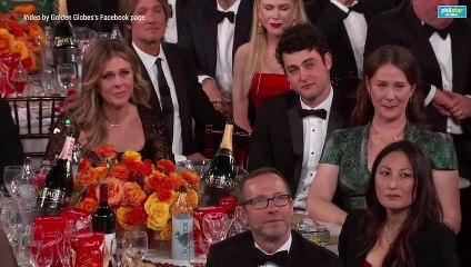 Tom Hanks' acceptance speech during the Golden Globes 2020