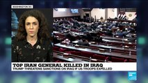 Iraq's parliament calls for US, other foreign troops to leave country