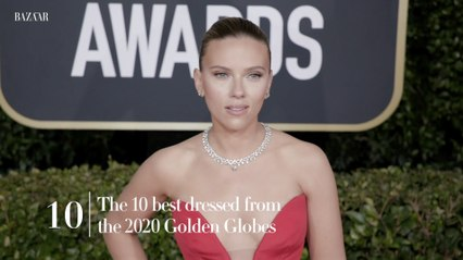 The 10 best dressed from the 2020 Golden Globes