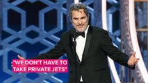 Joaquin Phoenix's anti-Hollywood speech was (almost) perfect