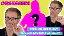 JoJo Rabbit's Stephen Merchant on his obsession! 'He's like a BLACK HOLE of talent!'
