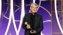 Ellen DeGeneres Receives Carol Burnett Award