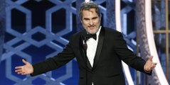 Joaquin Phoenix Drops F-Bombs in 'Joker' Speech at the Golden Globes 2020
