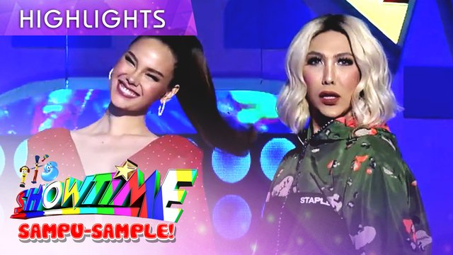 Catriona Gray joins Vice in Mini Miss U! | It's Showtime Mini Miss U