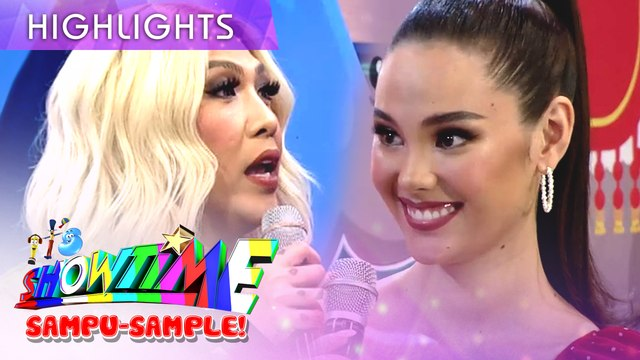 Vice asks Catriona if she copied answers from her classmates before | It's Showtime Mini Miss U