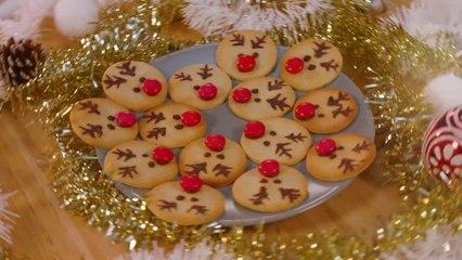 Rudolphes sablés au chocolat