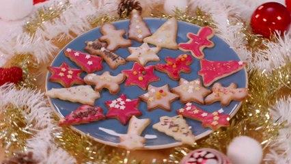 Décorations de Noël sablées au bon goût de citron