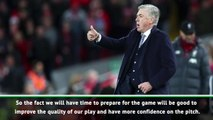 No midweek games means we can train - Ancelotti