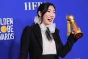 Awkwafina Claims Historic Win at 2020 Golden Globes