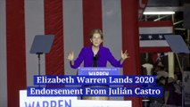 Elizabeth Warren Lands Endorsement From Julián Castro