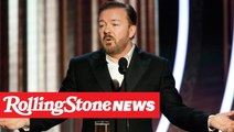 Ricky Gervais Blasts Hollywood in Hilarious Golden Globes Monologue | RS News 1/6/20
