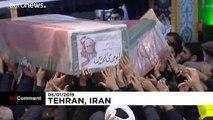 İran dini lideri Hamaney öldürülen General Süleymani için gözyaşı döktü