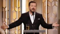 Ricky Gervais Goes Unfiltered in Golden Globes Monologue | THR News