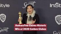 Awkwafina Gets A Golden Globes Win