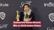 Awkwafina Gets A Golden Globes Win