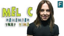Melanie C of the Spice Girls remembers someone peeing in Elton John's plant pot