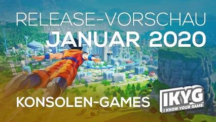 Games-Release-Vorschau - Januar 2020 - Konsole