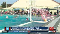 KHSD to vote on water polo as high school sport