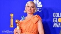Michelle Williams Advocates for Women's Rights in Golden Globes Acceptance Speech | THR News