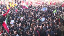 Funérailles du général Soleimani : marée humaine à Téhéran