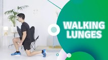 Walking lunges - Fit People
