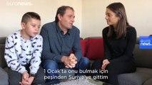 IŞİD esaretinden kurtarılan Alvin 5 yıl sonra Arnavutluk'ta babasına kavuştu