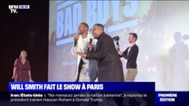 "Will Smith et Martin Lawrence font le show à Paris lors de l'avant-première de ""Bad Boys for life"""