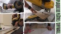 tuto comment poser une barre de seuil parquet flottant collé clipsable Romus Starclic