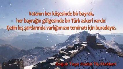MSB: Vatanın her bir köşesinde bir bayrak, Her bir bayrağın gölgesinde bir Türk askeri vardır!