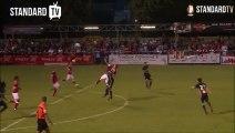 Le but de Renaud Emond contre l'OM en match amical