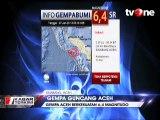 Aceh Diguncang Gempa 6,4 Magnitudo, Warga Berlarian
