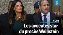 Affaire Weinstein : deux avocates au coeur du procès