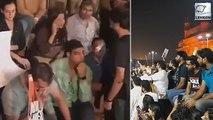 Mumbai Citizens Singing National Anthem Amid CAA Protest