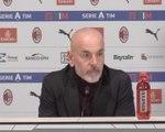 """18e j. - Pioli : """"Zlatan nous apporte de la présence dans la surface adverse"""""""