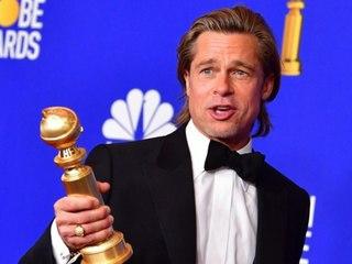 Brad Pitt scherzt über sein verkorkstes Privatleben