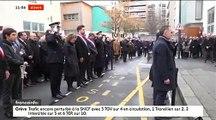 """Regardez l'hommage rendu ce matin aux victimes de l'attentat contre """"Charlie Hebdo"""" survenu il y a cinq ans - VIDEO"""