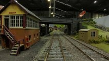 Cab Ride on Leamington & Warwick Model Railway Society's O Gauge 7 mm Scale Model Trains Layout Kimble - Video by Pilentum Television about rail transport modeling, trains, model railroading, railway modelling, model railways and model railroads